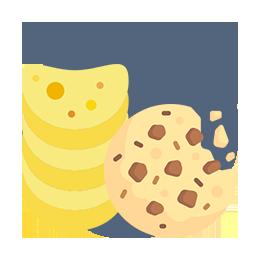 galletas y bocadillos